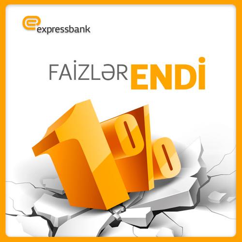 Expressbank faizləri endirdi