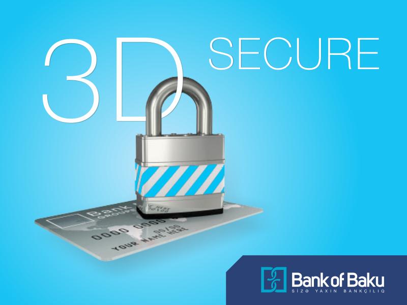 "Bank of Baku-nun plastik kartları ""3D secure"" sisteminə qoşuldu"