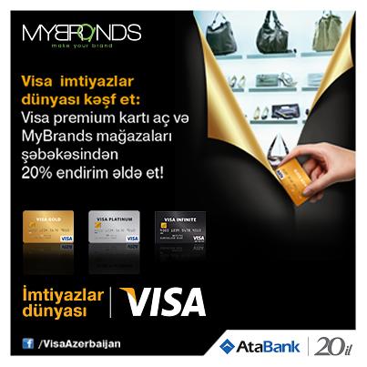 ОАО АтаБанк объявил о старте кампании  «Откройте Мир привилегий Visa!».