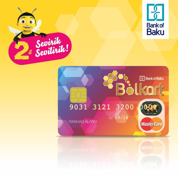 2 летие Bolkart: более 150.000 обладателей и вклад «Bank of Baku» в сферу безналичных расчетов