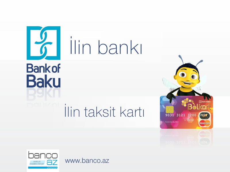 """Onlayn səsvermədə """"Bank of Baku"""" və Bolkart """"İlin bankı"""" və """"İlin taksit kartı"""" elan ediliblər!"""