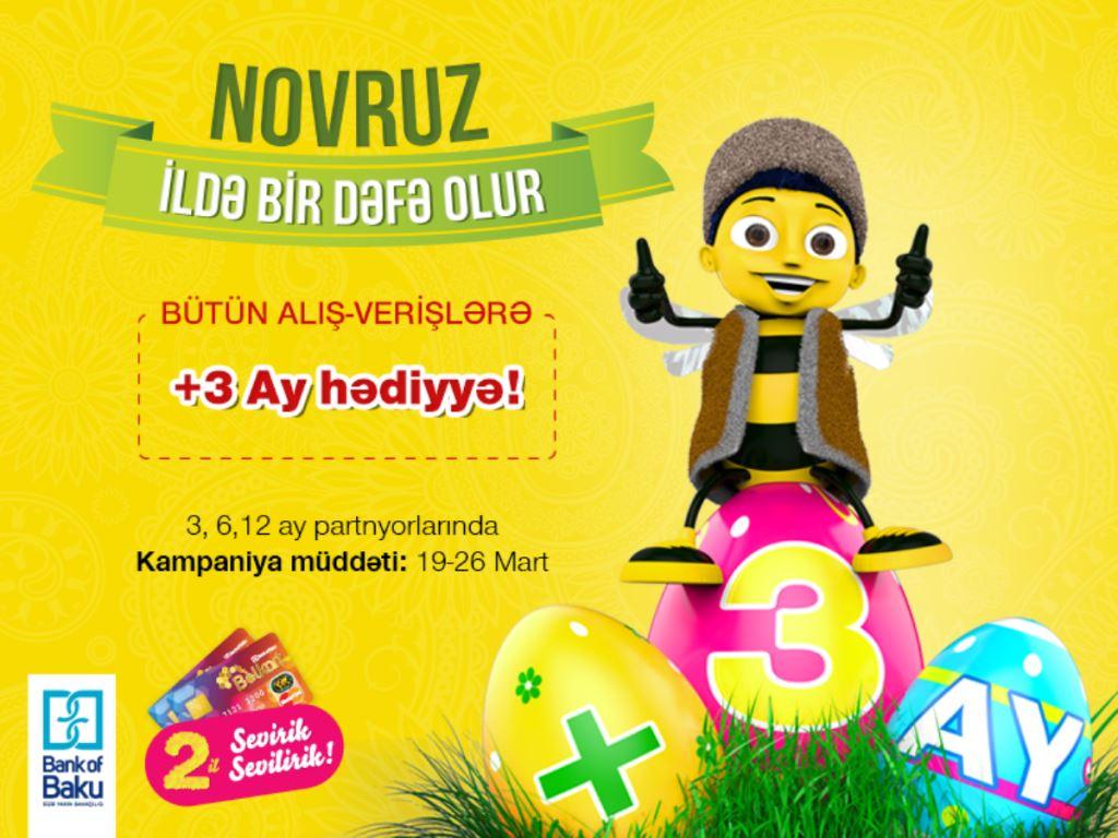"""Bayram günlərində Bolkartdan  """"+ 3 AY HƏDİYYƏ"""" aksiyası!"""