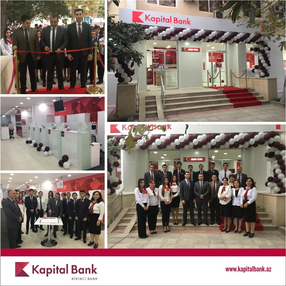Kapital Bank-ın yenilənmiş Bərdə filialı istifadəyə verildi