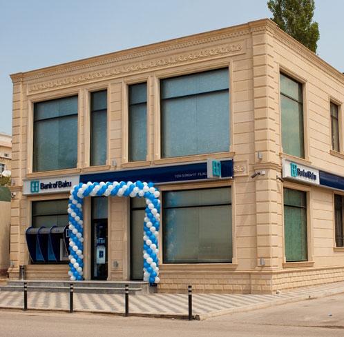 """""""Bank of Baku""""-nun Sumayıtda daha bir filialı açıldı."""