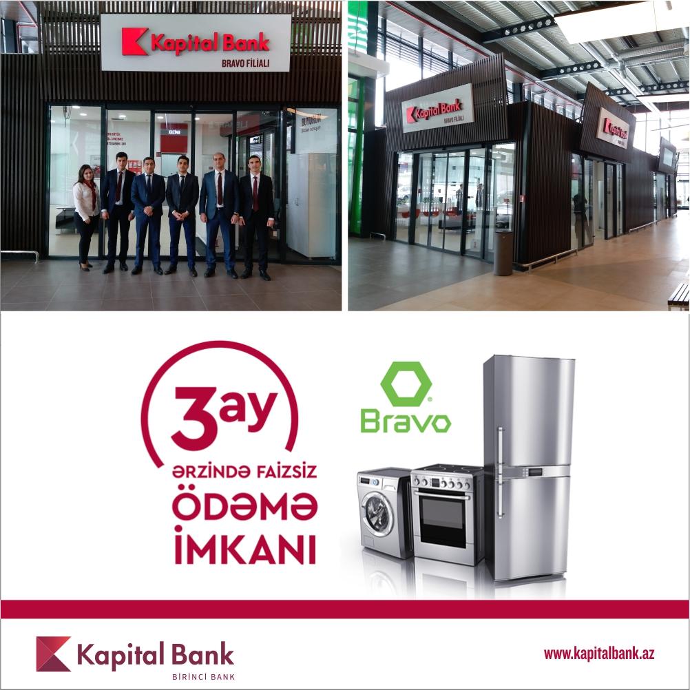 Kapital Bank-ın yeni Bravo filialı istifadəyə verildi