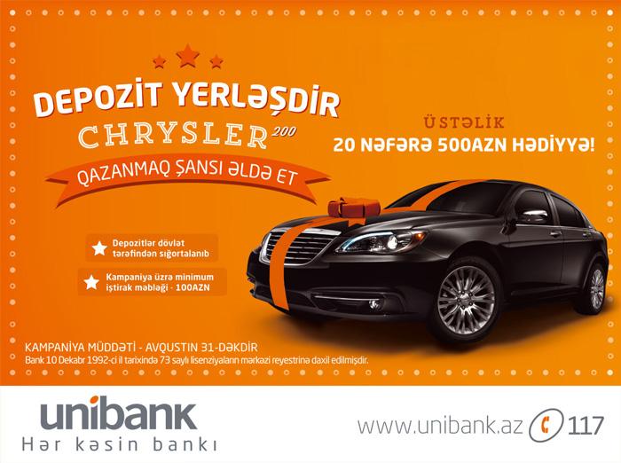Unibank kampaniya çərçivəsində 30 mln. manata yaxın vəsait cəlb etdi.
