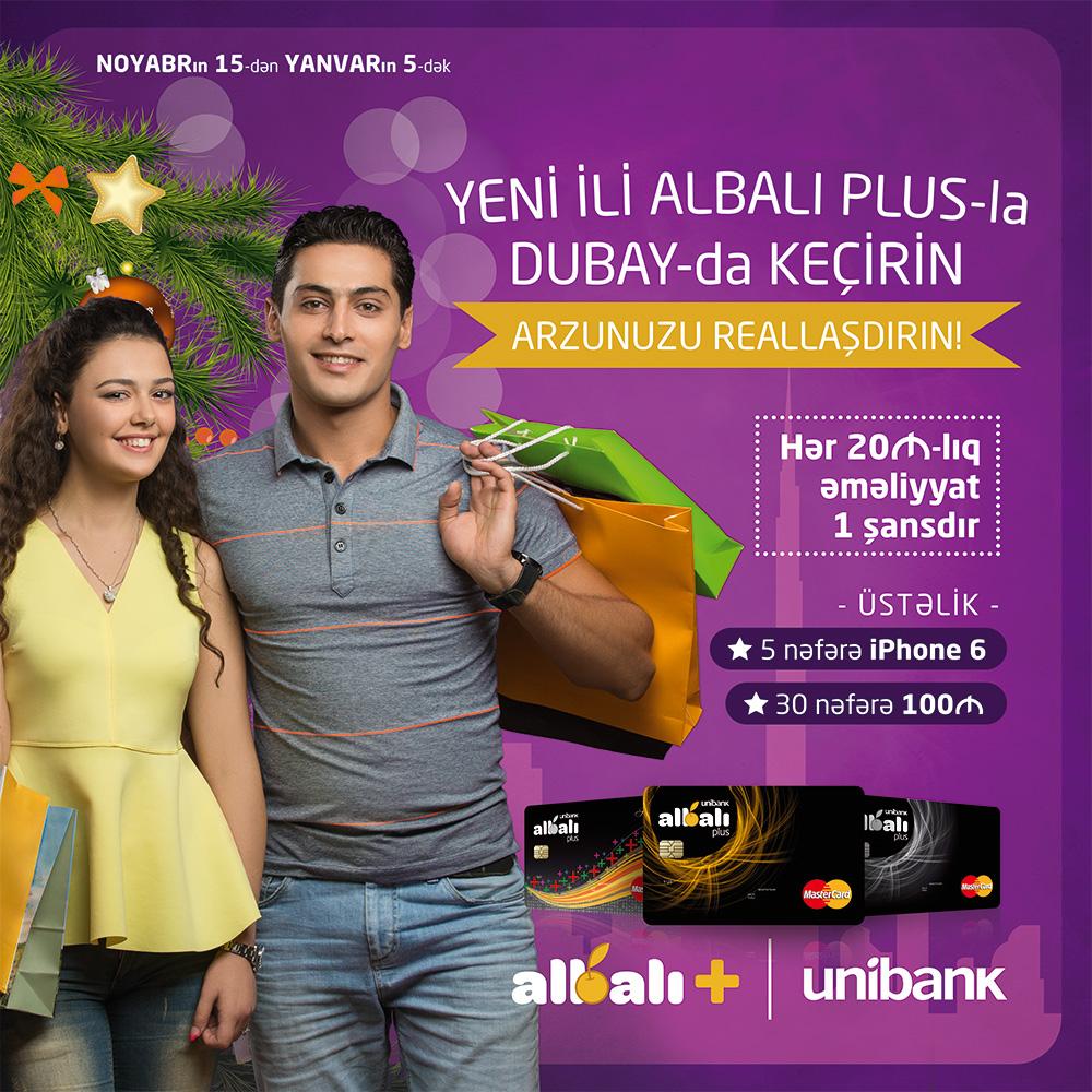 Unibank-dan unudulmaz Yeni il hədiyyəsi