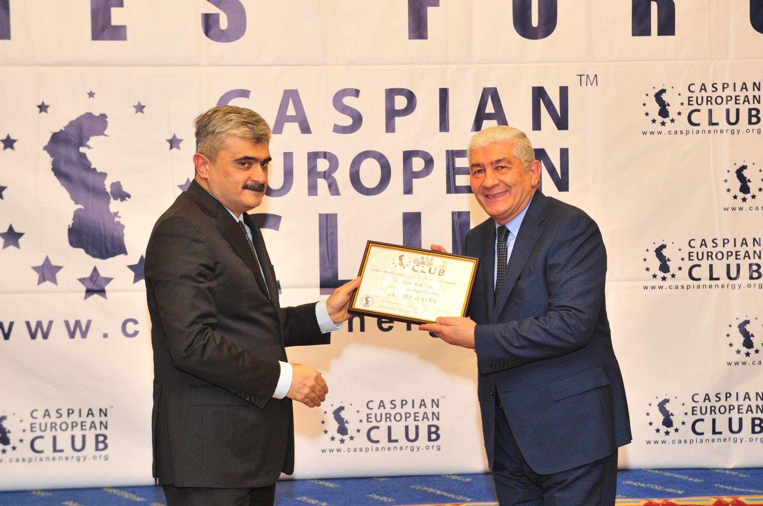"""Bank of Baku"" ""Caspian European Club"" təşkilatına daxil oldu!"