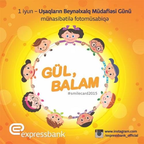 """Expressbank """"Gül, Balam"""" adlı fotomüsabiqə keçirir"""