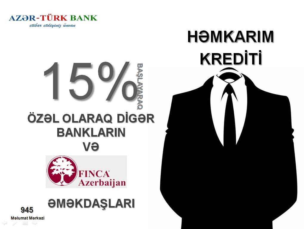 Azər-Türk Bankdan növbəti xoş xəbər