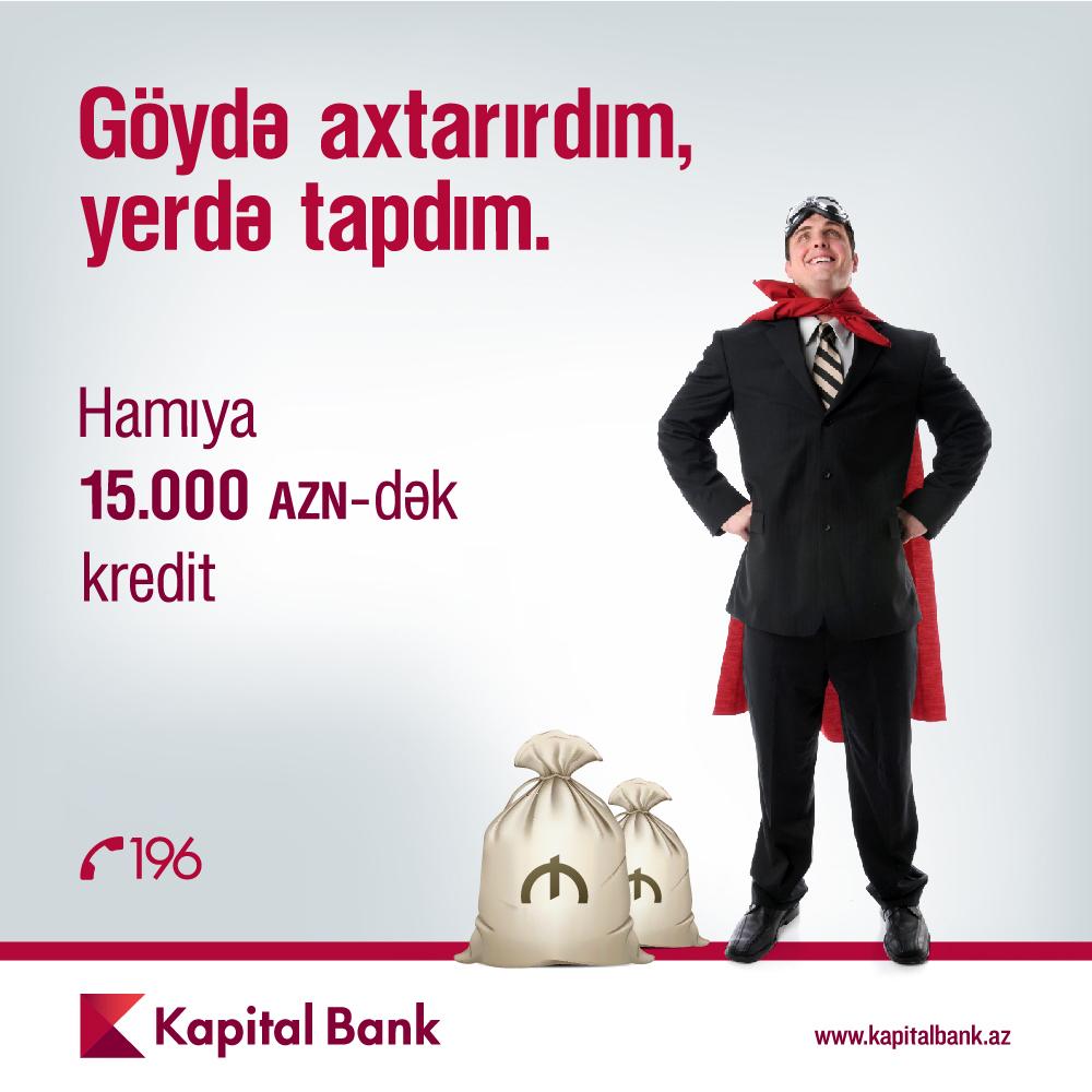 Kapital Bankdan hamı üçün kredit