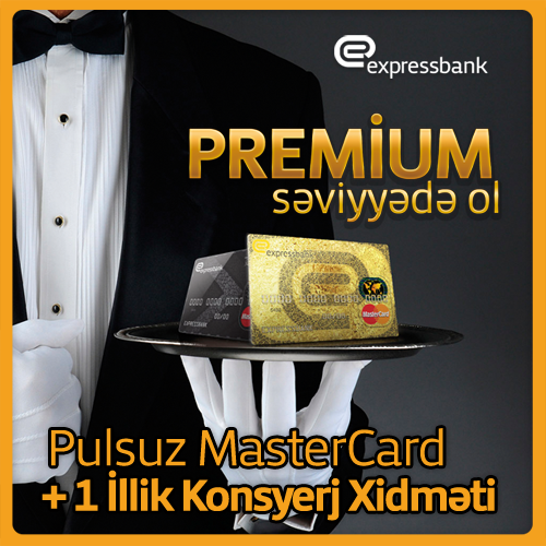 Expressbank MasterCard Concierge kartlarını təklif edir