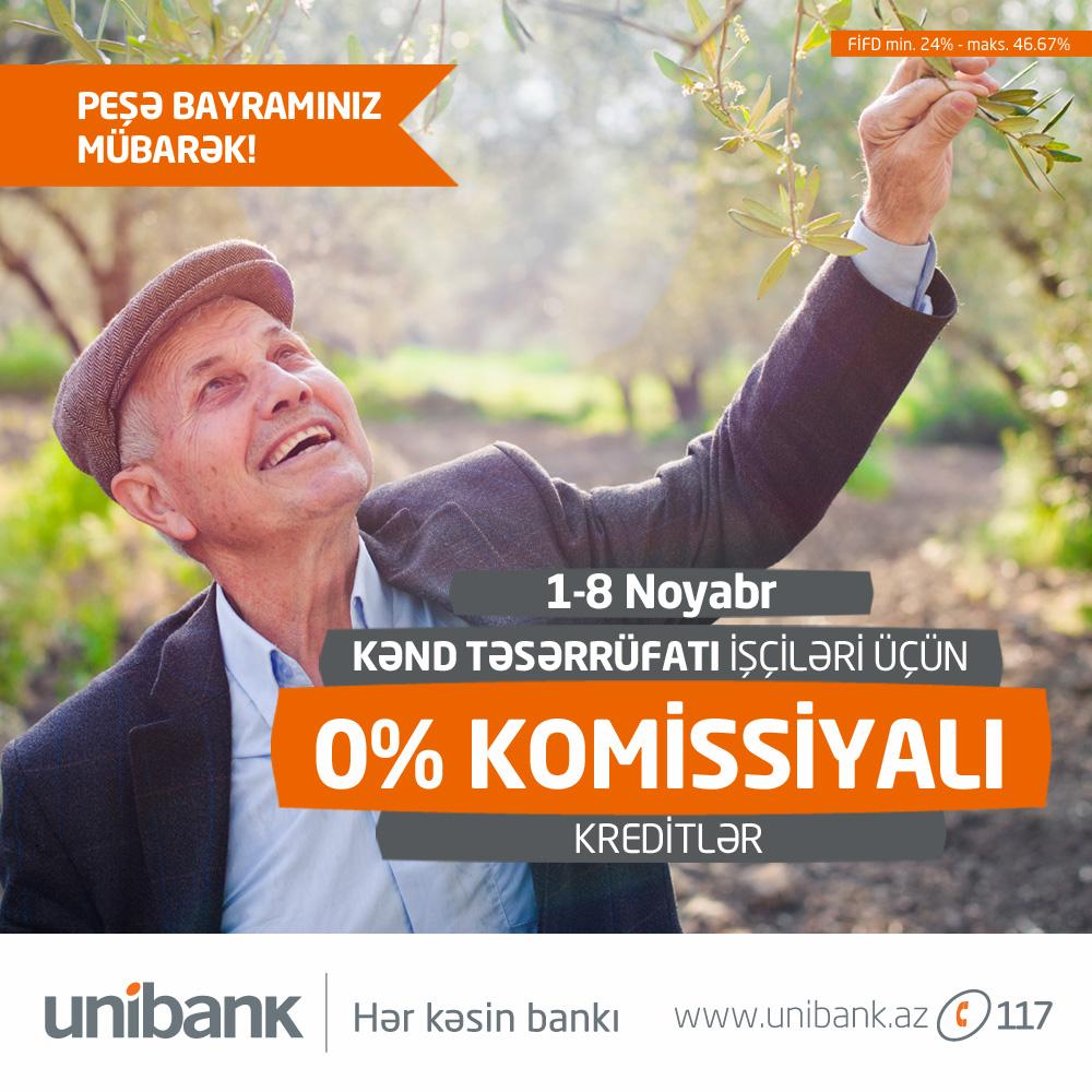Unibank xüsusi kampaniya keçirir