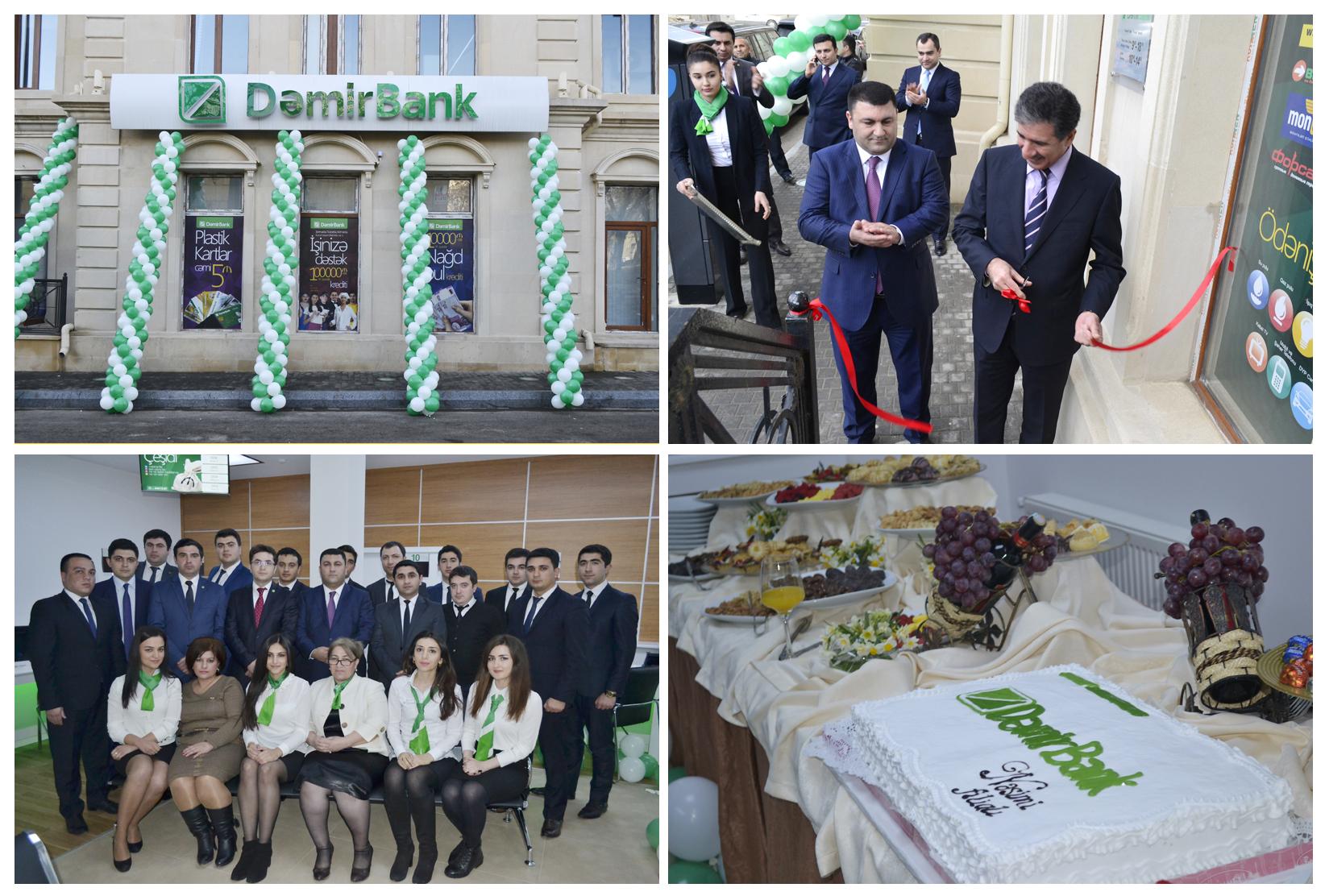 Bankın Nəsimi filialı açıldı!