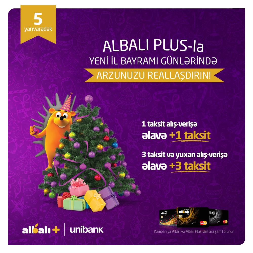 ALBALI PLUS-dan Yeni il hədiyyəsi
