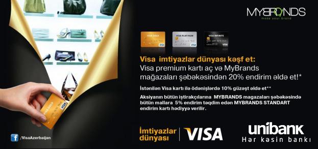 Подарочная акция от Unibank и Visa