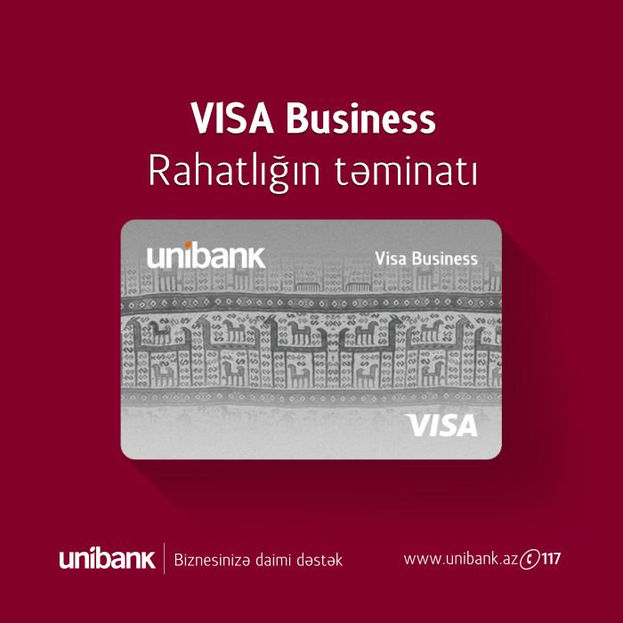 Unibank biznes- kartlarının hansı üstünlükləri var?