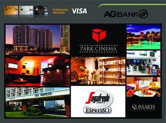 AGBankdan Visa İnfinite, Visa Gold və Visa Platinum kart sahiblərinə xüsusi təkliflər!