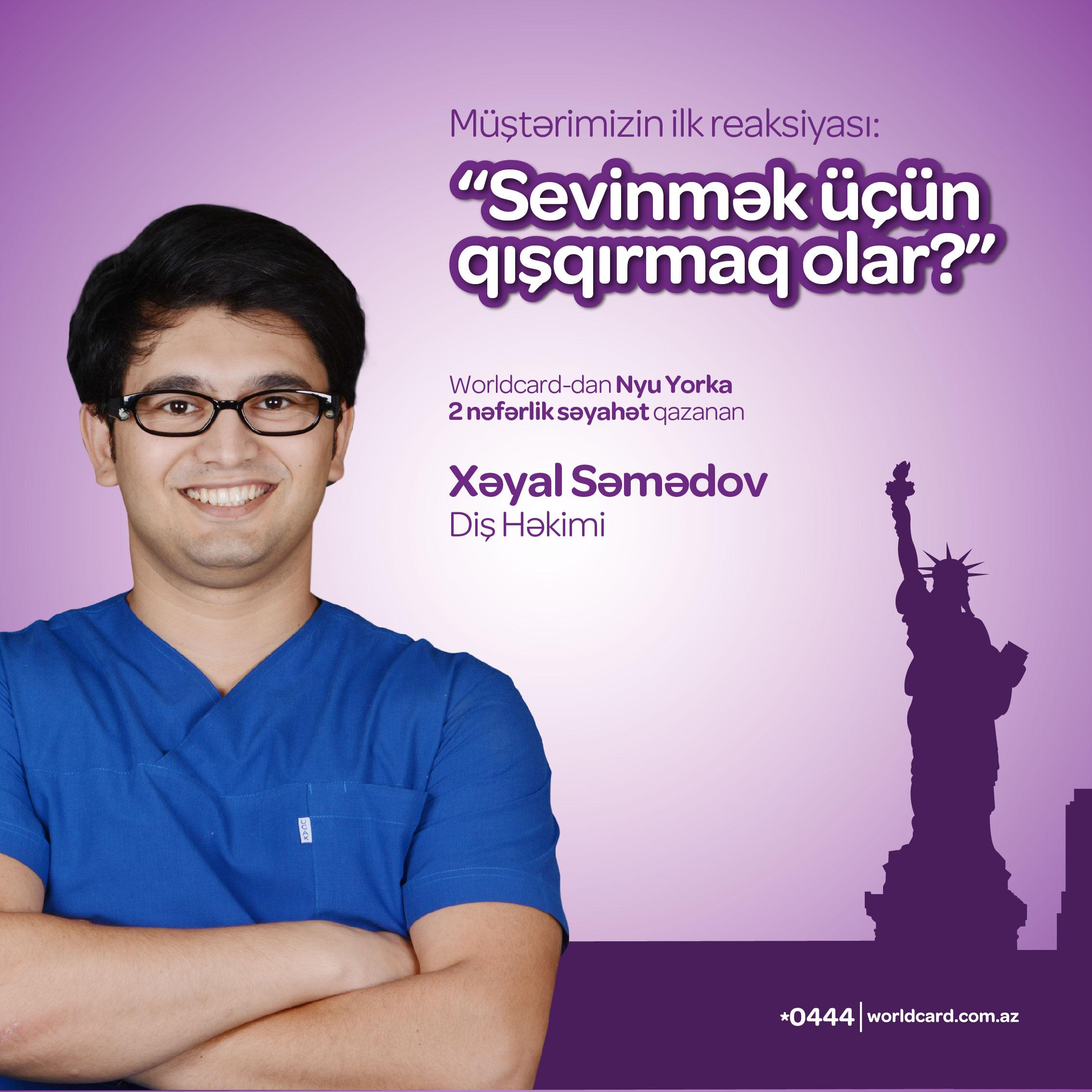Yapı Kredi Bank Azərbaycan həkimi Nyu Yorka göndərir