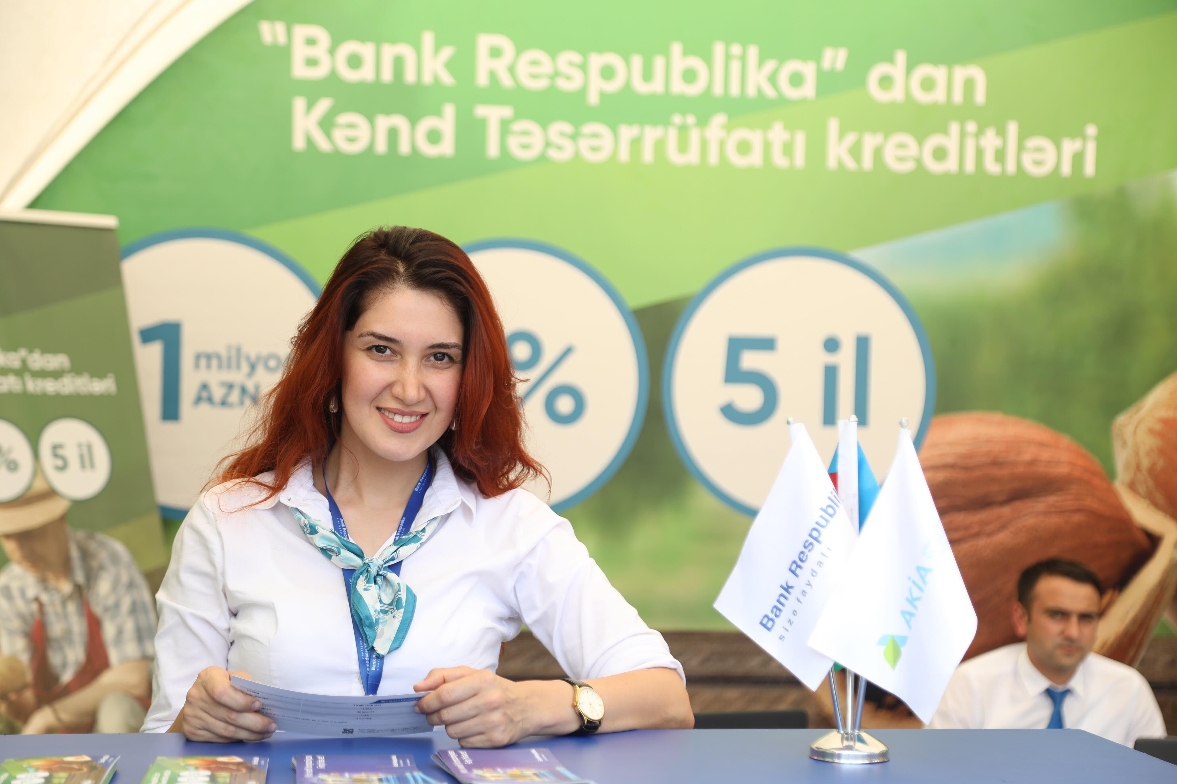 """Bank Respublika regionlarda """"Daha yaxın, daha sərfəli"""" kredit yarmarkaları keçirdi"""