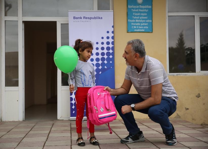 Банк Республика вновь порадовал школьников из прифронтовой зоны