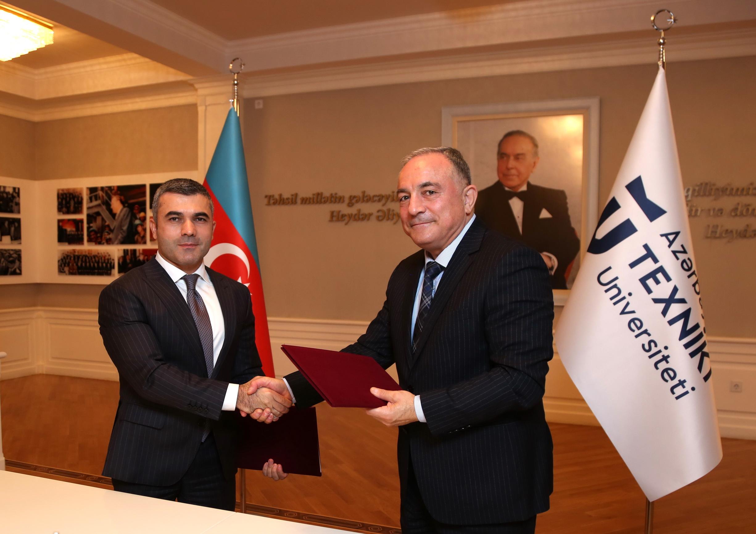 Bank Respublika və Azərbaycan Texniki Universiteti arasında əməkdaşlıq memorandumu imzalanıb