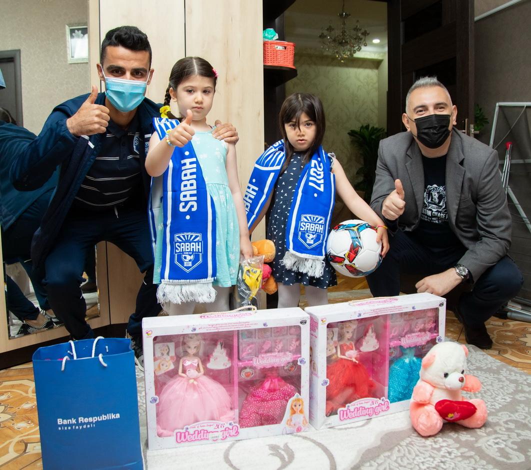 Банк Республика поздравил детей шехидов Апрельских боев с Днем Защиты Детей
