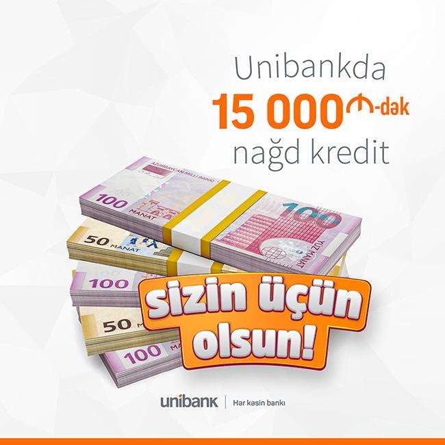 "Unibank запускает кампанию ""Sizin üçün olsun!"""