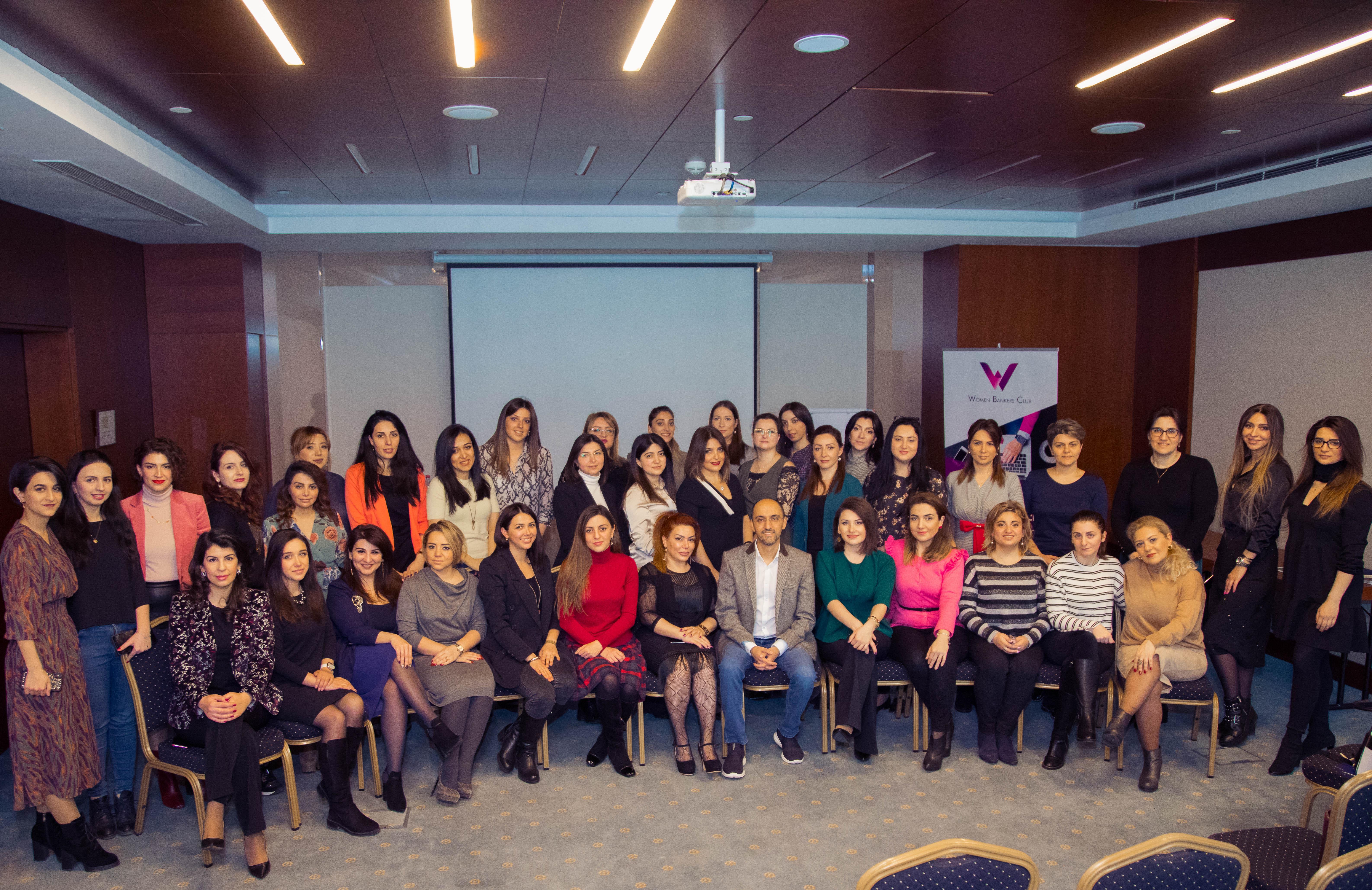 Azərbaycan Qadınlar Klubunun (Women Bankers Club) təşkilatçılığı ilə növbəti seminar keçirildi
