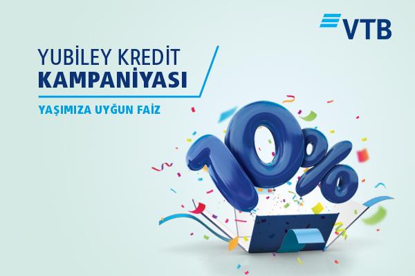 Bank VTB (Azərbaycan) nağd pul krediti üzrə yeni aksiyaya start verir