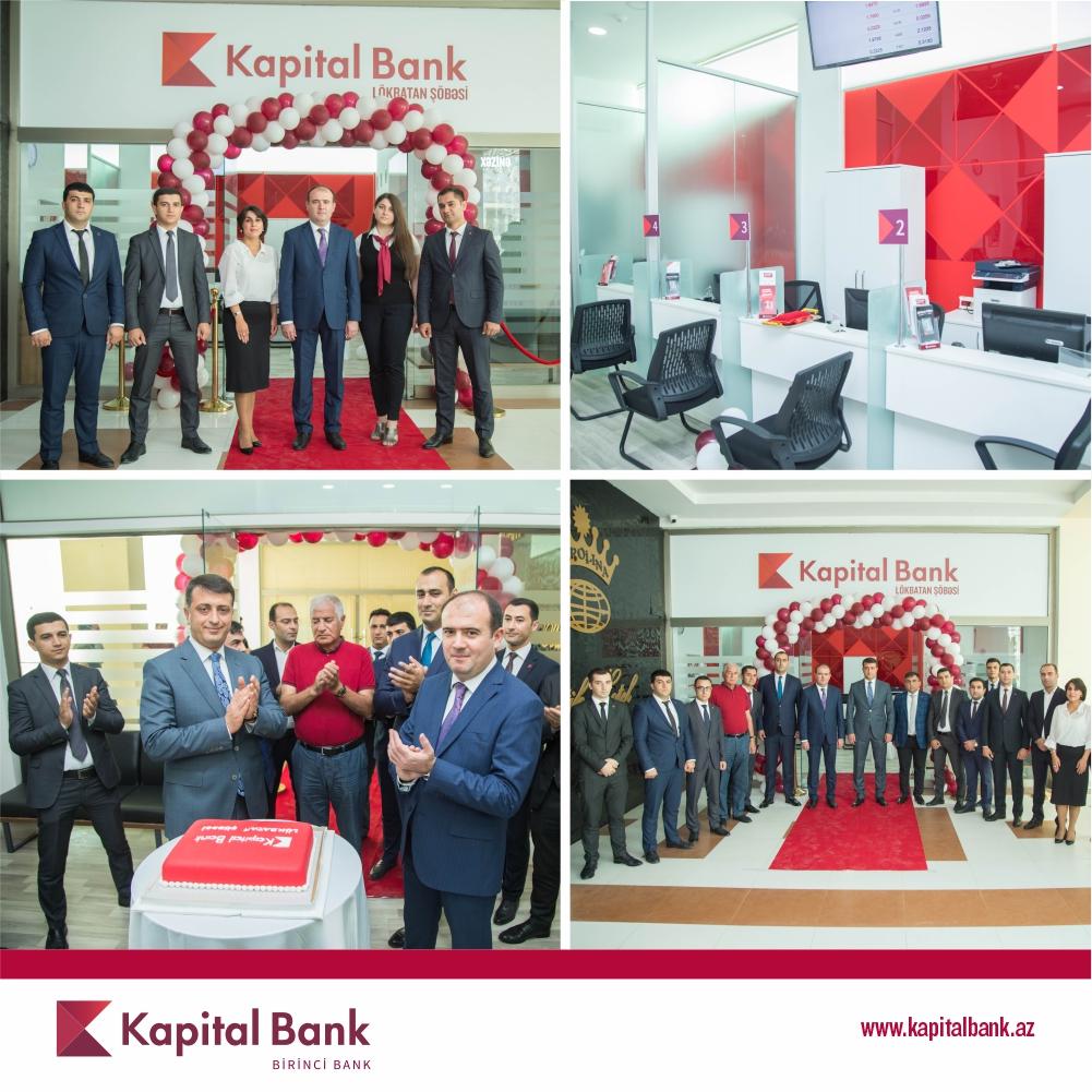 Kapital Bank представил новое отделение Локбатан