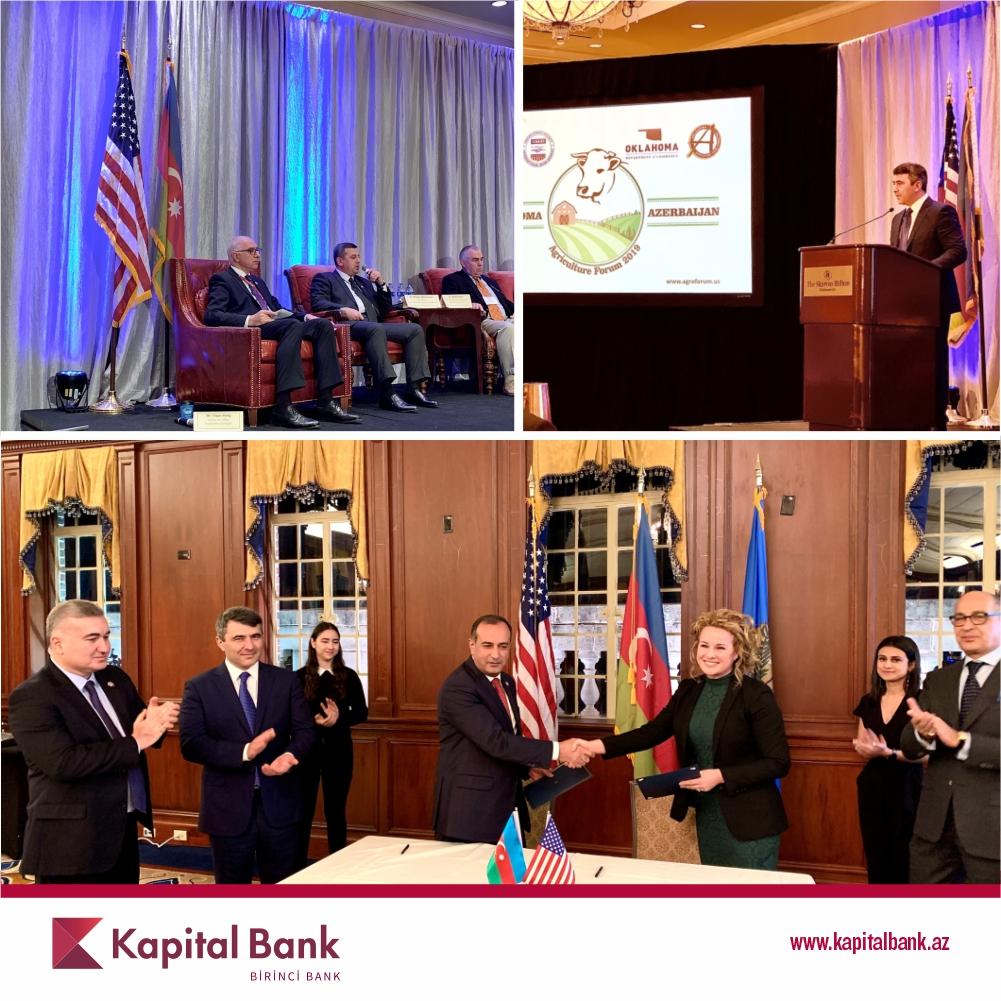 Kapital Bank принял участие в очередном международном сельскохозяйственном форуме