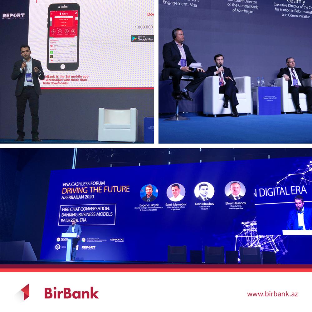 BirBank принял участие в «Visa Cashless Forum»