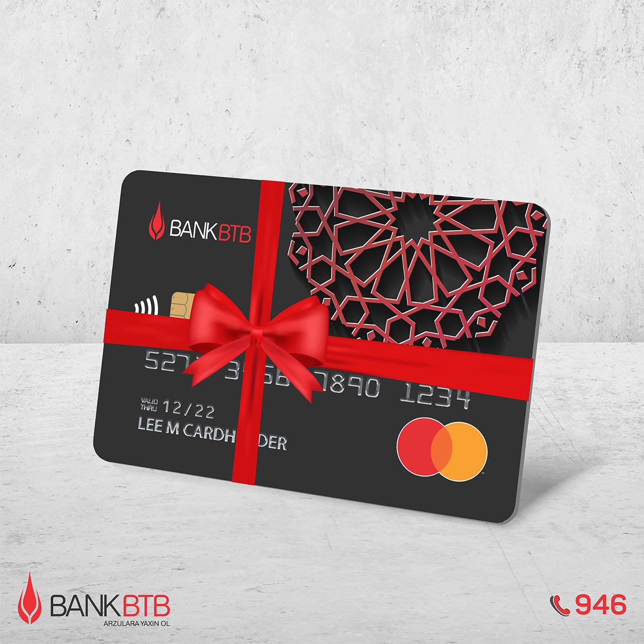 Bank BTB-dən pulsuz Mastercardlar