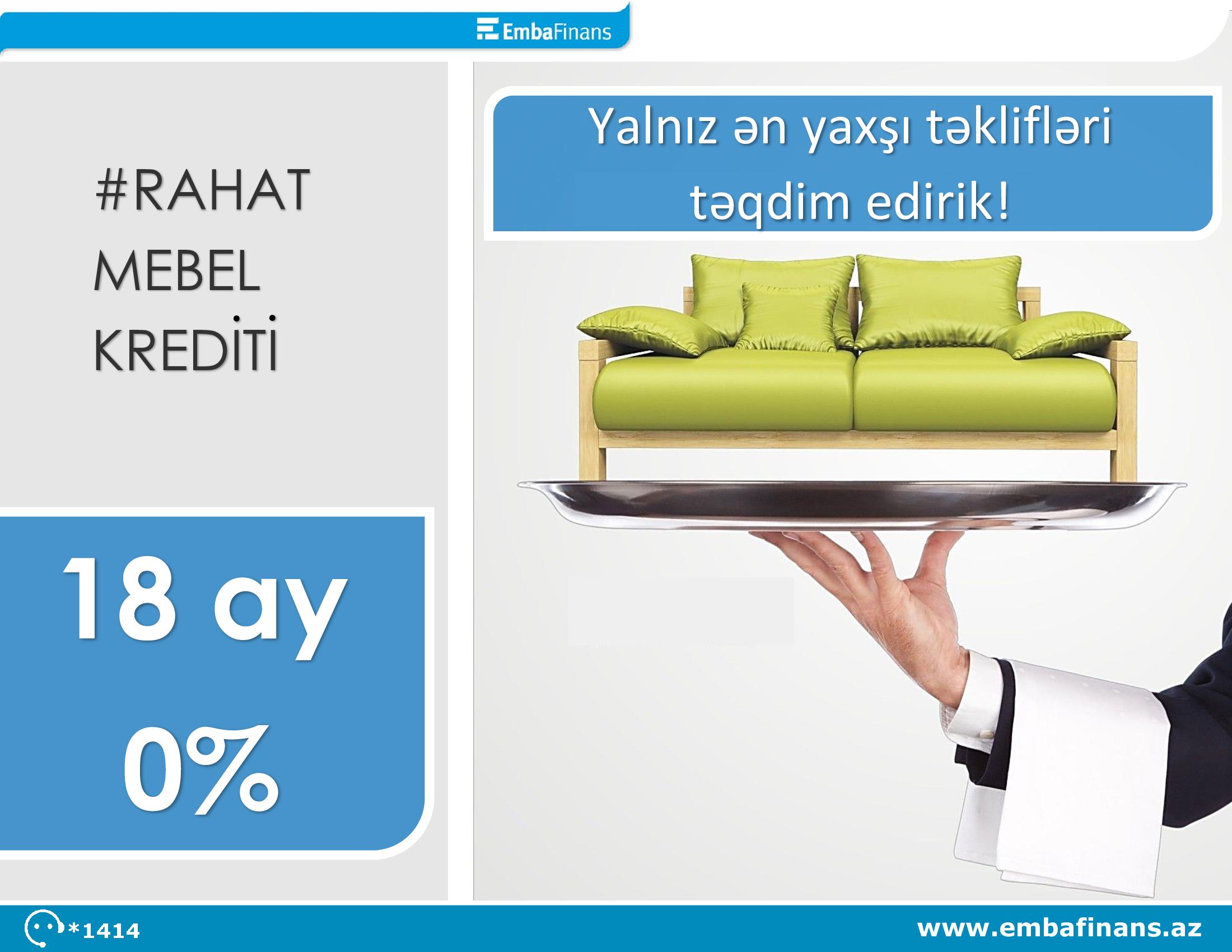 Embafinans müştərilərinə bu yayın ən sərfəli təklifini təqdim edir!!