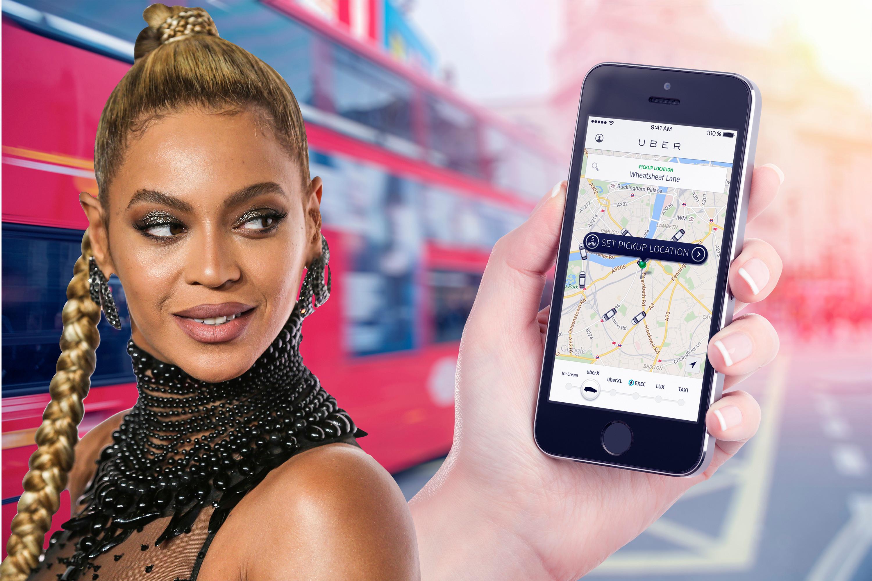 Корпоратив Uber принес Бейонсе $300 млн