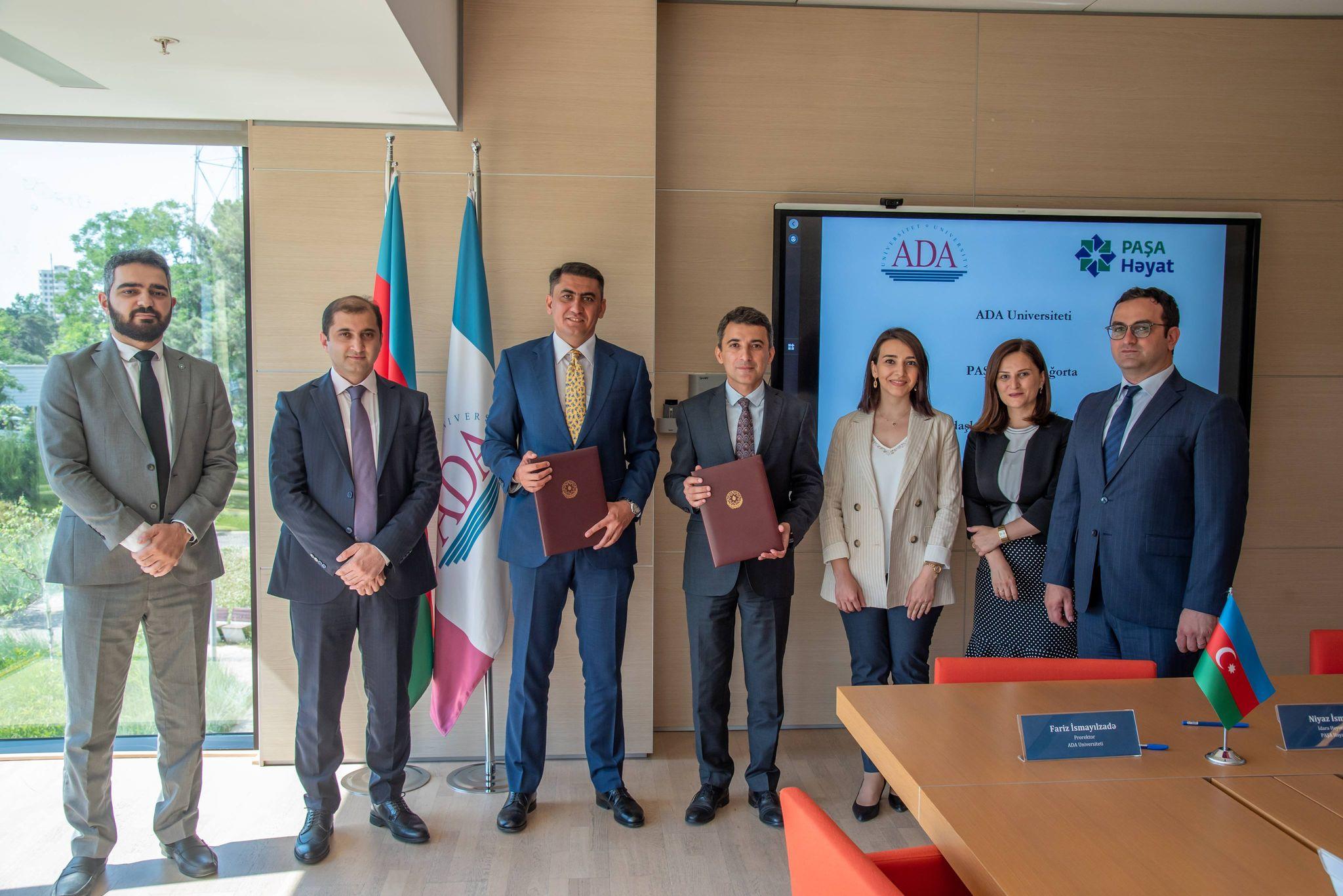 PASHA Life и ADA University подписали меморандум о сотрудничестве