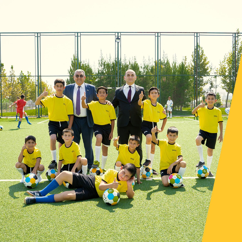 Yelo Bank поддержал проект «Развитие спорта в селах»