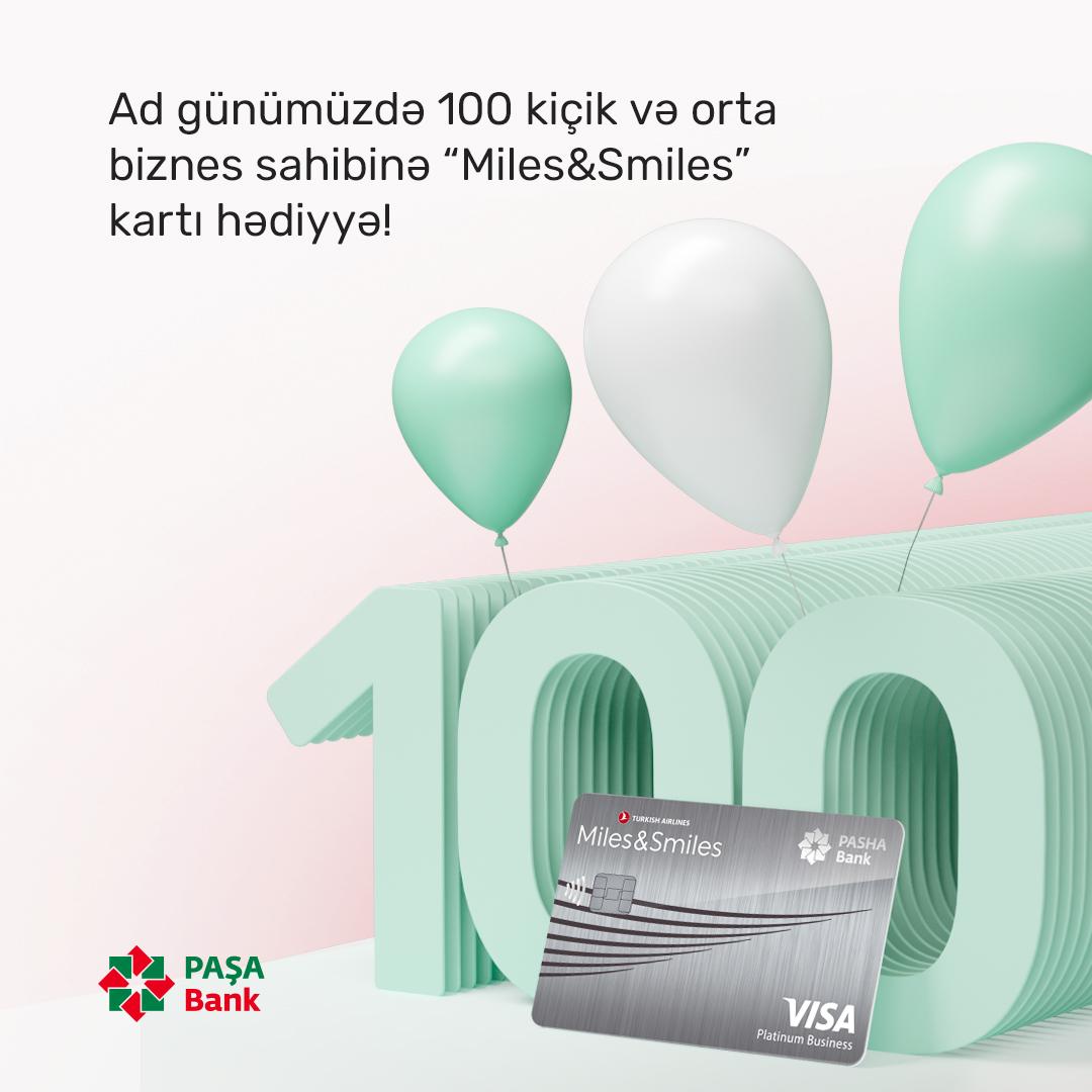 """Ad günümüzdə 100 kiçik və orta biznes sahibinə """"Miles&Smiles"""" kartı hədiyyə!"""