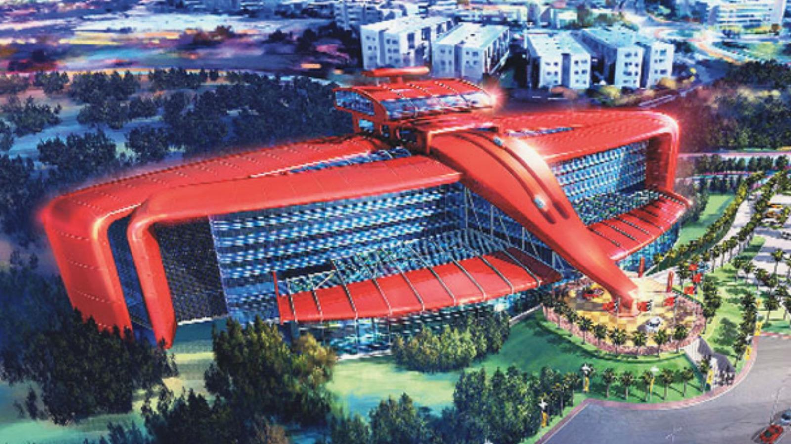 Ferrari oteli açılır