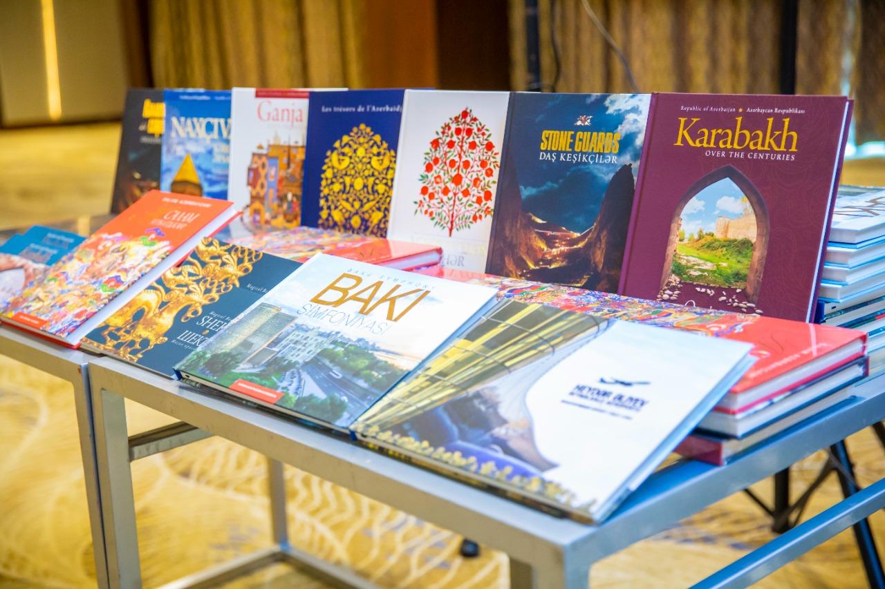 Состоялась презентация книг «Салам, Азербайджан!» и «Шеки – Магия красоты»