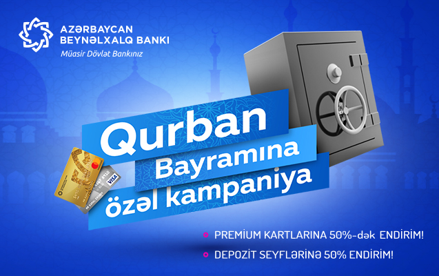 Beynəlxalq Bankda Qurban bayramı endirimləri!