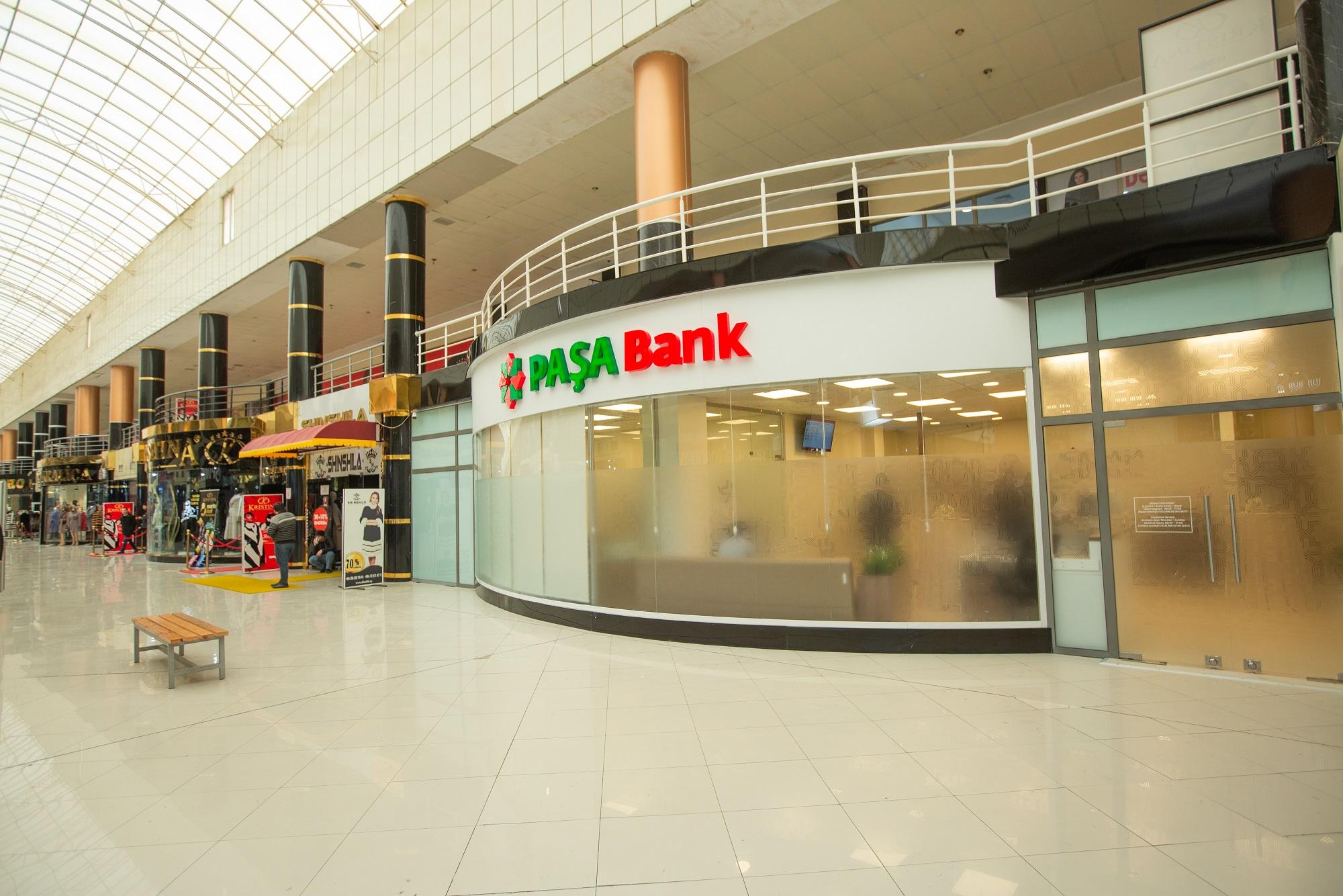 PASHA Bank открыл отделение по обслуживанию МСБ в торговом центре