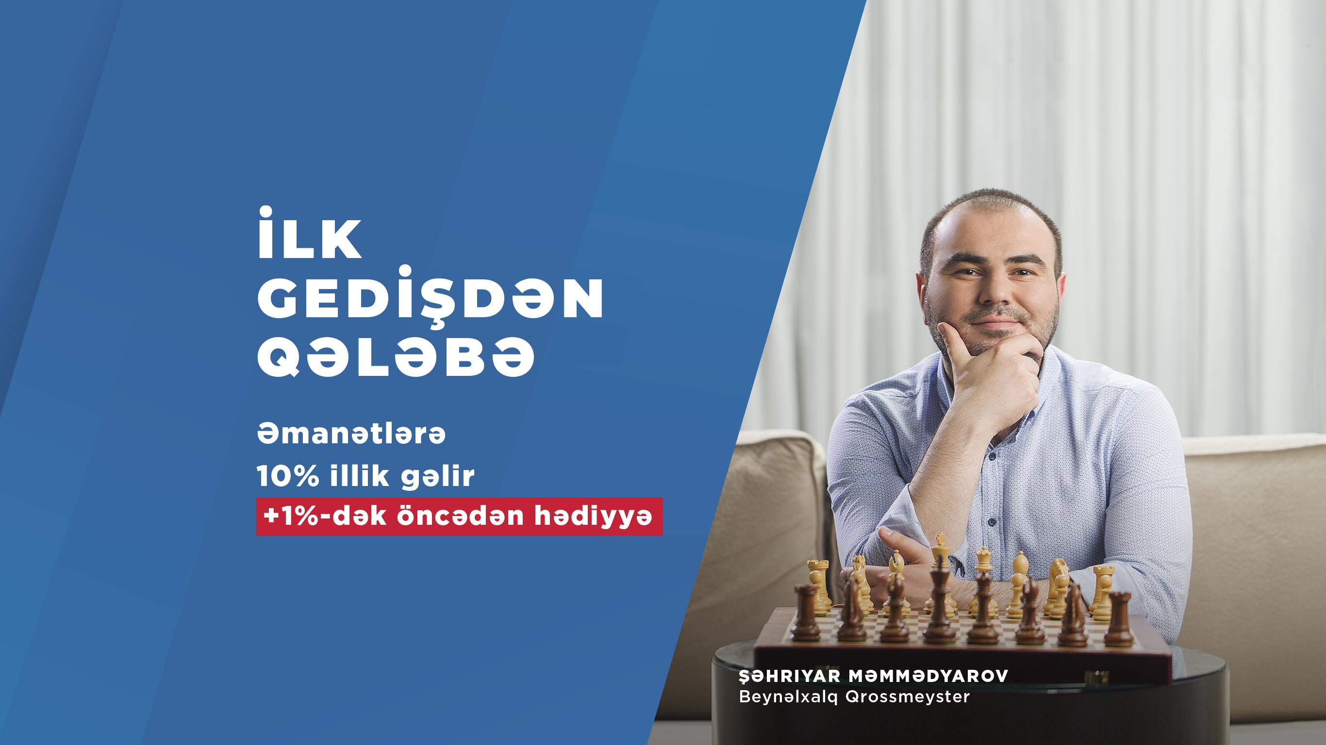 Шахрияр Мамедъяров стал лицом депозитной кампании AccessBank