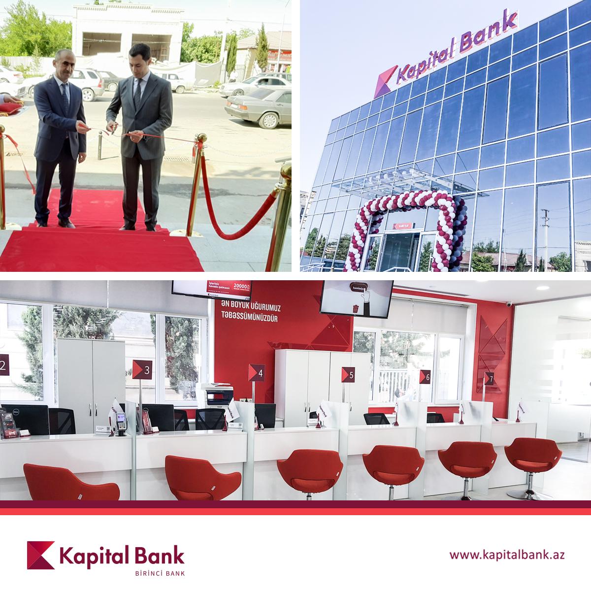 Kapital Bank представил обновленный филиал в Агдаме