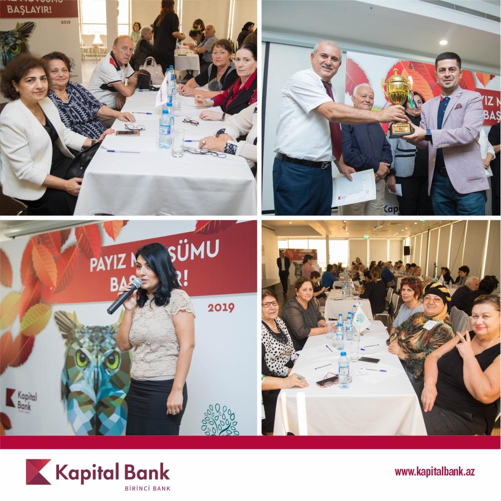 Kapital Bank организовал интеллектуальную игру для пенсионеров
