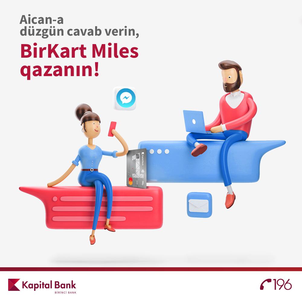 BirKart проводит конкурсдля пользователей Facebook Messenger!