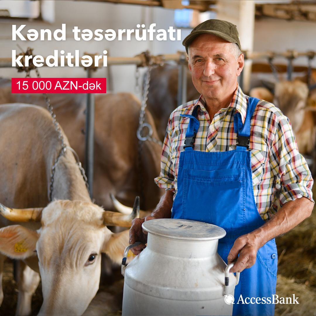 193 фермера получили в AccessBank микрокредиты, выделенные по линии AKİA