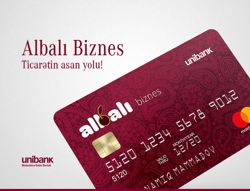 Unibank sahibkarlar üçün yeni kart hazırladı