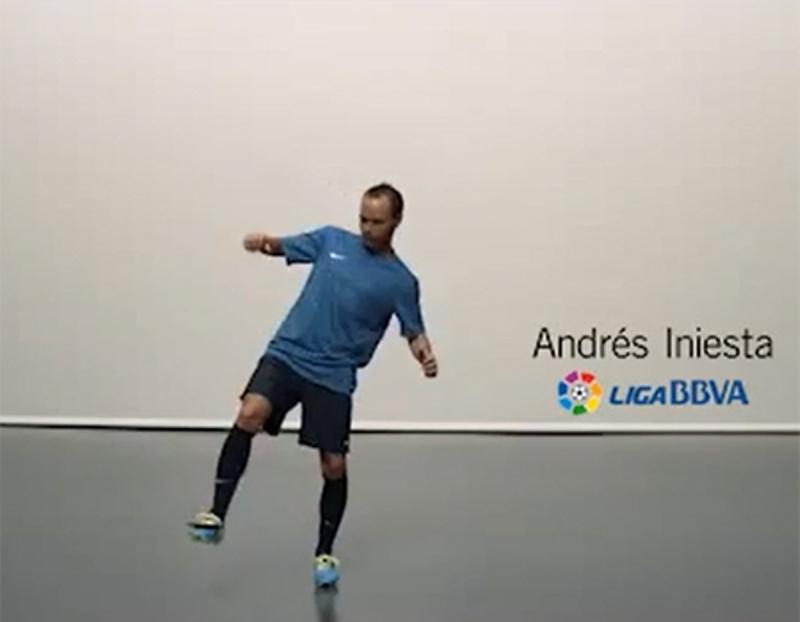 Garanti bankınn yeni reklam siması - Andres İniesta